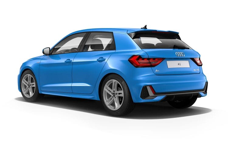 Audi A1 25 Sportback 5Dr 1.0 TFSI 95PS Black Edition 5Dr Manual [Start Stop] back view
