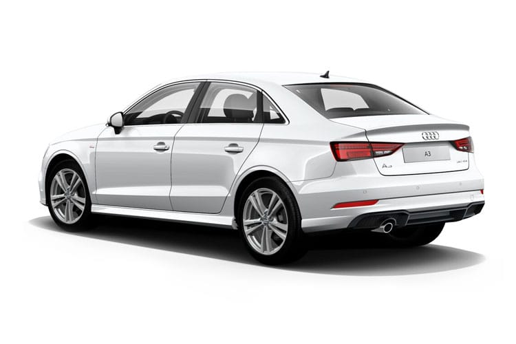 Audi A3 35 Saloon 4Dr 1.5 TFSI CoD 150PS Sport 4Dr S Tronic [Start Stop] [Technology] back view