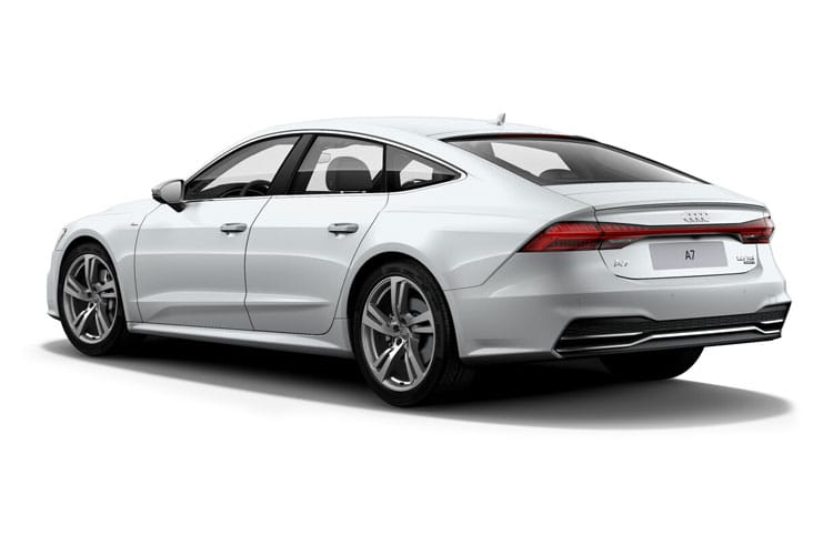 Audi A7 45 Sportback quattro 5Dr 2.0 TFSI 265PS Sport 5Dr S Tronic [Start Stop] [Comfort Sound] back view