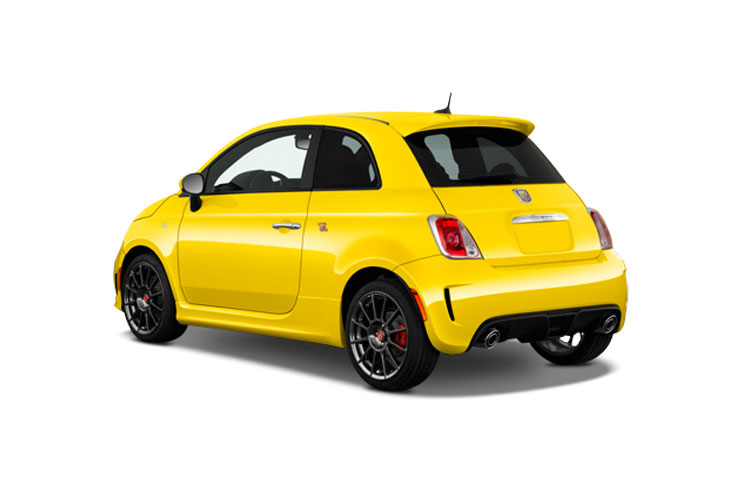 Abarth 595 Hatch 3Dr 1.4 T-Jet 165PS Turismo 70th 3Dr Auto back view