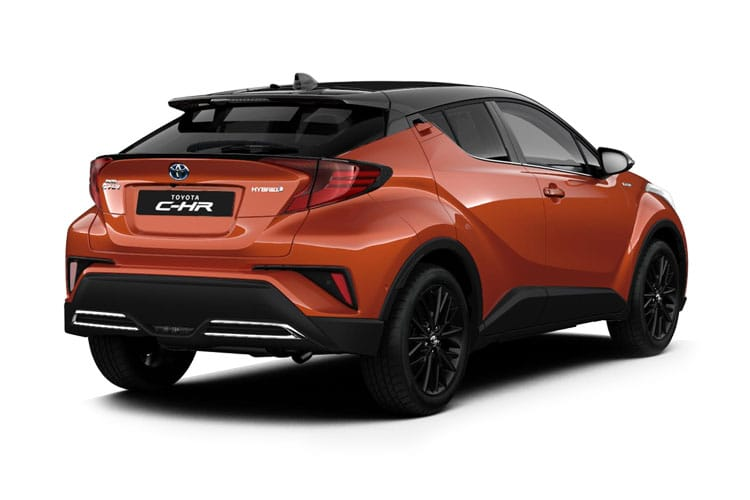 Toyota C-HR 5Dr 2.0 VVT-h 184PS Design 5Dr CVT [Start Stop] back view