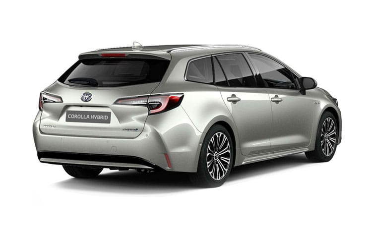 Toyota Corolla Touring Sports 2.0 VVT-h 184PS Design 5Dr CVT [Start Stop] back view