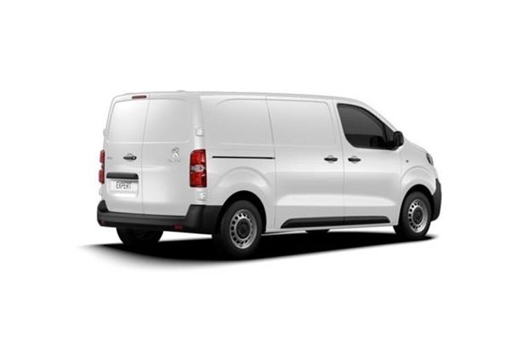 Peugeot Expert Long 1400Kg 2.0 BlueHDi FWD 120PS Asphalt Van Manual [Start Stop] back view