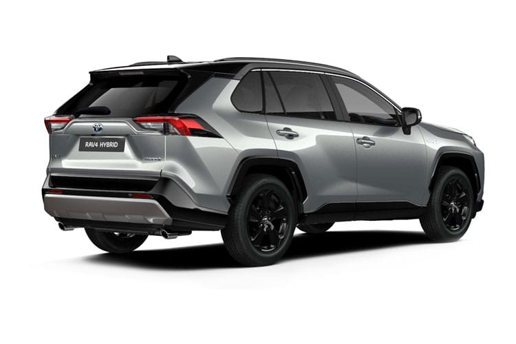 Toyota RAV4 SUV 2wd 2.5 VVT-h 218PS Design 5Dr CVT [Start Stop] back view