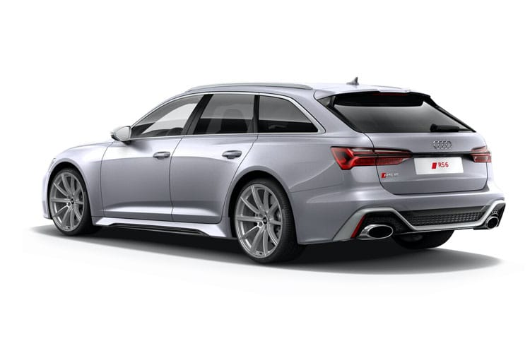 Audi A6 40 Avant 2.0 TFSI 204PS Black Edition 5Dr S Tronic [Start Stop] [Technology] back view