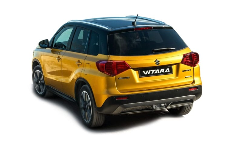 Suzuki Vitara SUV 1.4 Boosterjet MHEV 129PS SZ5 5Dr Auto [Start Stop] back view