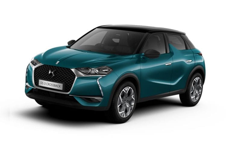 DS Automobiles DS 3 Crossback 5Dr 1.2 PureTech 155PS Ultra Prestige 5Dr EAT8 [Start Stop] front view