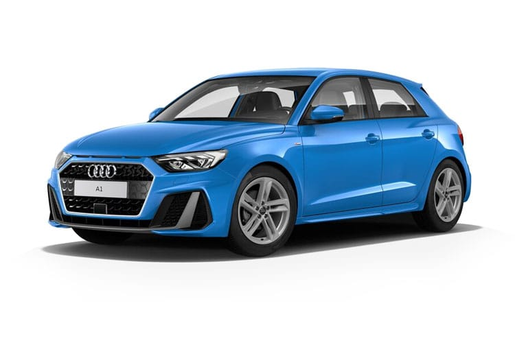 Audi A1 25 Sportback 5Dr 1.0 TFSI 95PS Black Edition 5Dr Manual [Start Stop] front view
