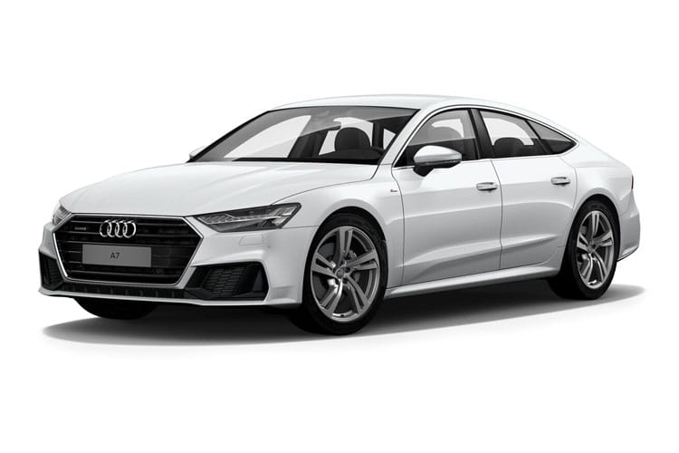 Audi A7 45 Sportback quattro 5Dr 2.0 TFSI 265PS Sport 5Dr S Tronic [Start Stop] [Comfort Sound] front view