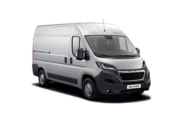 Peugeot Boxer 435 L4 2.2 BlueHDi FWD 140PS Asphalt Van High Roof Manual [Start Stop] front view