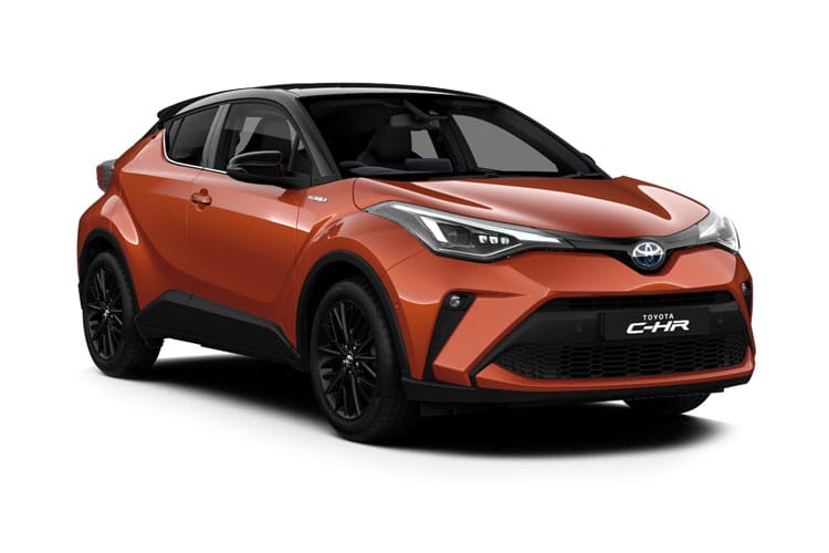 Toyota C-HR 5Dr 1.8 VVT-h 122PS Excel 5Dr CVT [Start Stop] front view