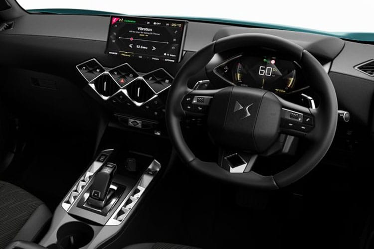 DS Automobiles DS 3 Crossback 5Dr 1.2 PureTech 155PS Ultra Prestige 5Dr EAT8 [Start Stop] inside view