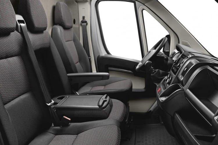 Peugeot Boxer 435 L4 2.2 BlueHDi FWD 140PS Asphalt Van High Roof Manual [Start Stop] inside view