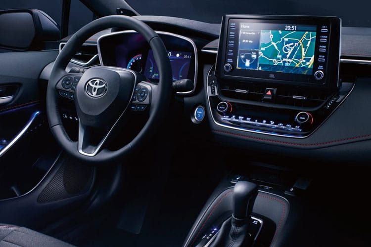 Toyota Corolla Touring Sports 2.0 VVT-h 184PS Design 5Dr CVT [Start Stop] inside view