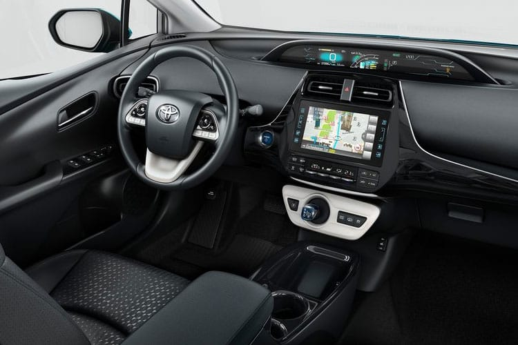 Toyota Prius PiH Hatch 5Dr 1.8 VVT PiH 8.8 kWh 122PS Excel 5Dr CVT [Start Stop] inside view