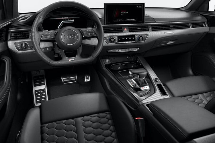 Audi A4 S4 Avant quattro 5Dr 3.0 TDI V6 347PS Black Edition 5Dr Tiptronic [Start Stop] inside view