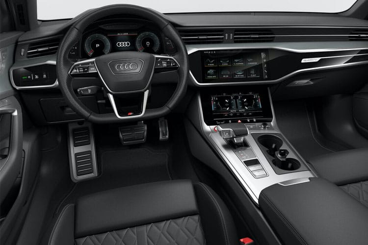 Audi A6 40 Saloon quattro 2.0 TDI 204PS Black Edition 4Dr S Tronic [Start Stop] [Technology] inside view